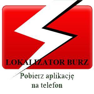 BANER - Lokalizator burzy na telefon