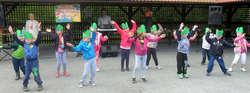 Dzieciaki z Gminnego Przedszkola w Nowinach