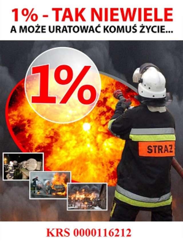 Przekaż 1% podatku na Ochotniczą Straż Pożarną w Pasymiu
