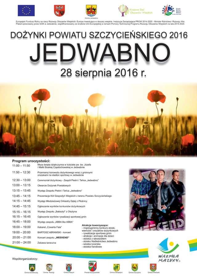 Dożynki Powiatu Szczycieńskiego 2016