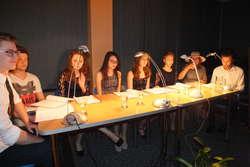 Sztuka teatralna czytana przez młodzież