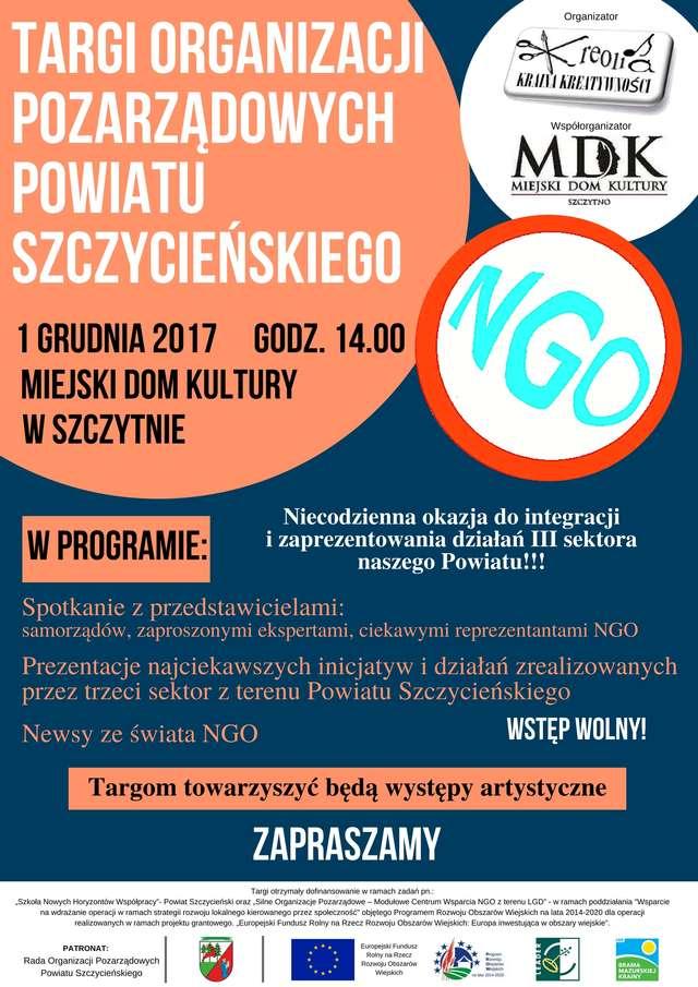 Targi Organizacji Pozarządowych Powiatu Szczycieńskiego