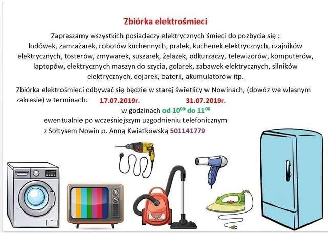 Zbiórka elektośmieci
