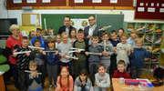 Oklaski za odblaski w Szkole Podstawowej nr 3 im. Marii Skłodowskiej-Curie w Szczytnie