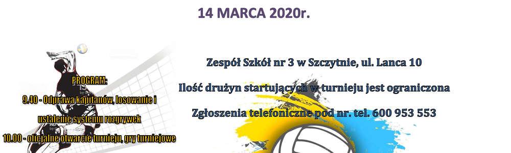 Wiosenny Turnieju Piłki Siatkowej Mężczyzn  o Puchar Starosty Powiatu Szczycieńskiego
