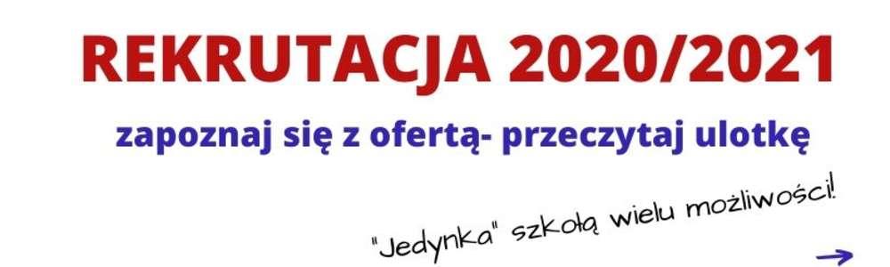REKRUTACJA - ULOTKA