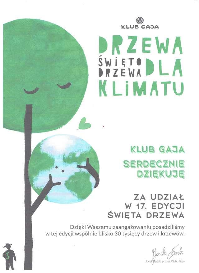 Drzewa dla klimatu
