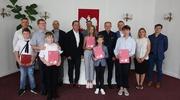 Nagrody Burmistrza dla najzdolniejszych uczniów