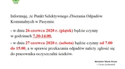 Informacja o PSZOK w Pasymiu