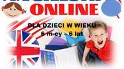 Język angielski online dla dzieci w wieku 6 m-cy - 6 lat