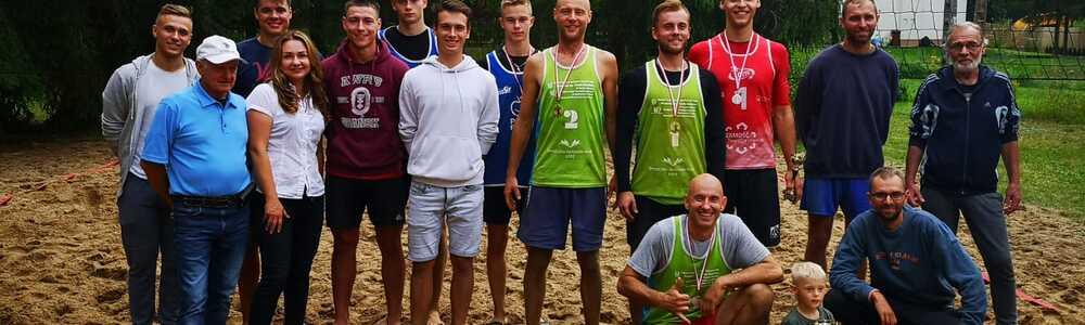 Turniej Siatkówki Plażowej Mężczyzn o Puchar Starosty Powiatu Szczycieńskiego