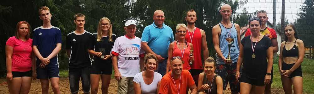 Turniej Siatkówki Plażowej Drużyn Mieszanych o Puchar Starosty Powiatu Szczycieńskiego