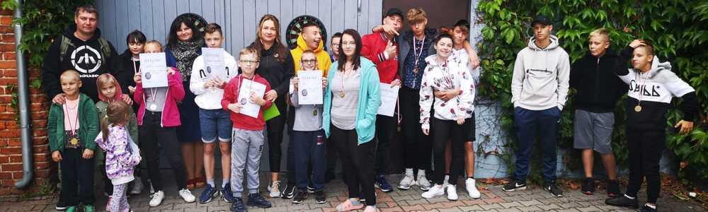 Młodzieżowy Turniej Darta Domu Dziecka w Pasymiu