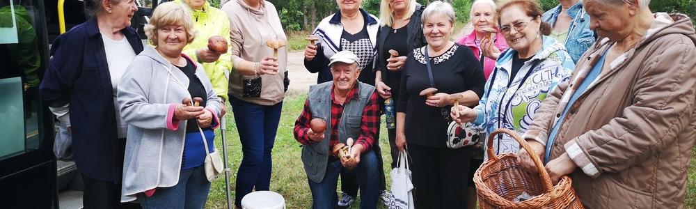 Grzybobranie 2020 Klubu Seniora +