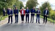 Oficjalne otwarcie drogi w Piasutnie.