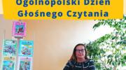 Ogólnopolski Dzień Głośnego Czytania w Miejskiej Bibliotece Publicznej w Szczytnie