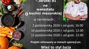 Gotuj z Michałem Denesiukiem mazurskie specjały!