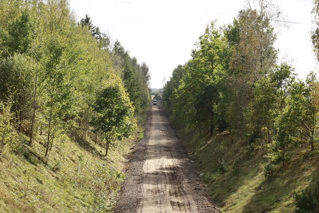 Budowa ścieżki pieszo-rowerowej przez Gminę Dźwierzuty