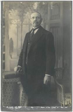 Bogumił Leyk (z archiwum rodzinnego Wiktora Marka Leyka)