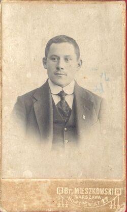 Michał Gajkowski (ze zbiorów Pawła Krassowskiego)
