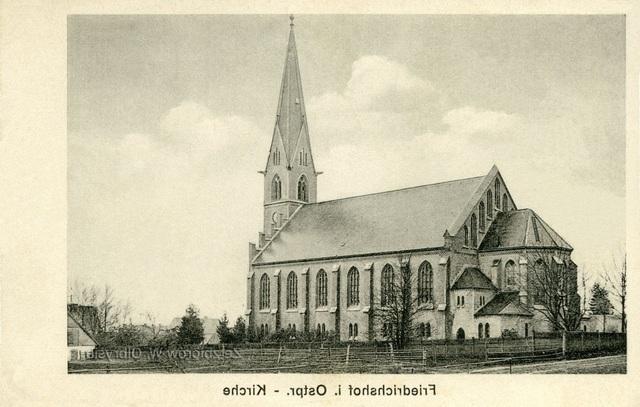Kościół w Rozogach