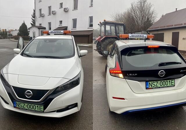 Elektryczne auto w służbie publicznej w powiecie szczycieńskim
