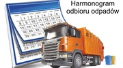 Harmonogram wywozu odpadów zmieszanych w Gminie Szczytno w 2021 r.