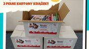 """Akcja Kinder """"Podziel się książką"""" w Miejskiej Bibliotece Publicznej w Szczytnie - zakończona"""