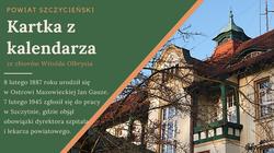 Na zdjęciach szpital powiatowy w Szczytnie wzniesiony w 1908/9 r.