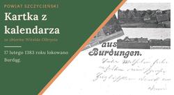 Pocztówka przedstawia miejscowość Burdąg. Pocztówka ze zbiorów M. Rawskiego.