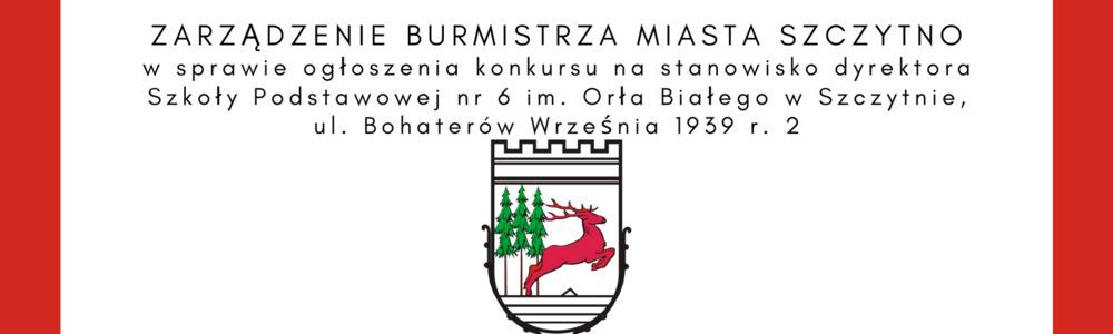 Zarządzenie Burmistrza Miasta Szczytno