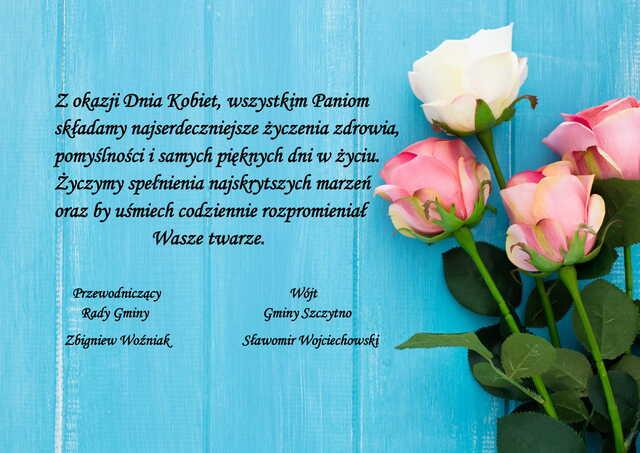 życzenia dzień kobiet