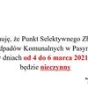 Informacja w PSZOK