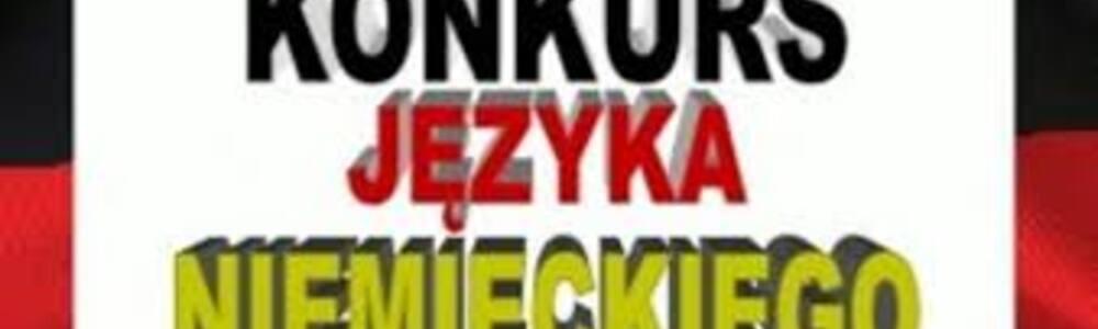 Finalista Wojewódzkiego Konkursu Języka Niemieckiego