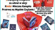 """Akcja Kinder """"Podziel się książką""""- Miejska Biblioteka Publiczna w Szczytnie otrzymała nagrody"""
