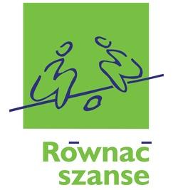 """Logo programu """"Równać szanse"""""""