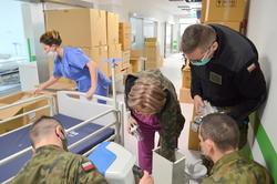 Przekształcenie nowo powstałego Szpitalnego Oddziału Ratunkowego w Szpital Tymczasowy