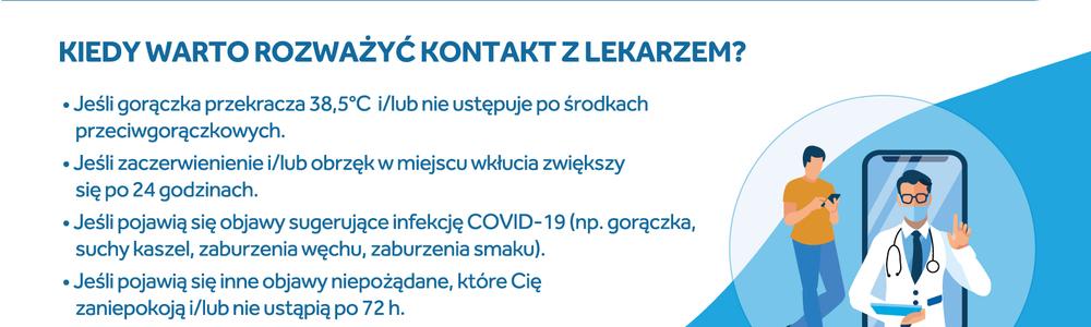 """""""Odpowiedzi na najczęstsze pytania dotyczące szczepienia przeciw COVID-19"""""""