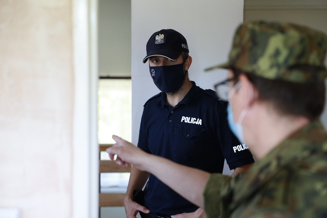 """Ćwiczenia Sił Zbrojnych RP w Powiecie Szczycieńskim """"Dragon-21"""""""