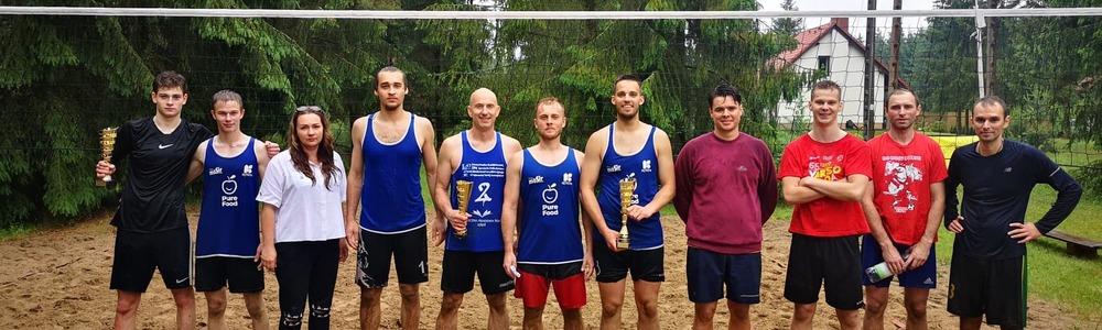 Turniej Siatkówki Plażowej Mężczyzn o Puchar Starosty Szczycieńskiego
