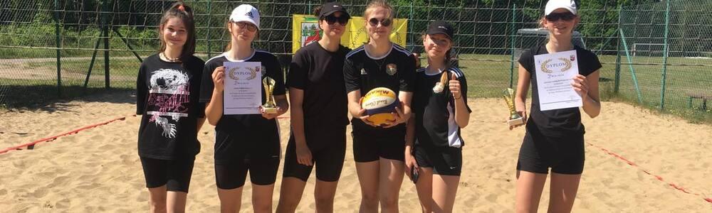 SPRAWOZDANIE DO KOMUNIKATU 5/2021 Mistrzostwa Powiatu Szczycieńskiego w Siatkówce Plażowej Dziewcząt i Chłopców Szkół Podstawowych