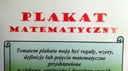PLAKAT MATEMATYCZNY