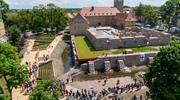 Biblioteka na zamku krzyżackim- Fotorelacja