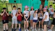 Klasa IIIc na wycieczce w Bartbo