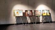 Wystawa obrazów autorstwa Leszka Mierzejewskiego