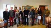 Wizyta uczestników III Miejskiego Pleneru Malarskiego